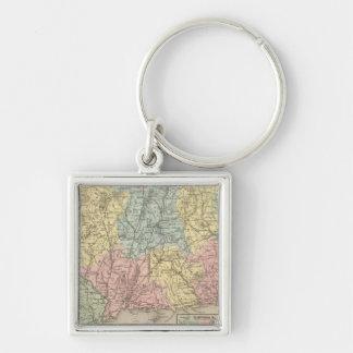 Connecticut 15 key ring