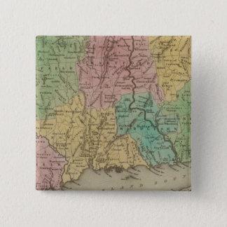 Connecticut 3 15 cm square badge