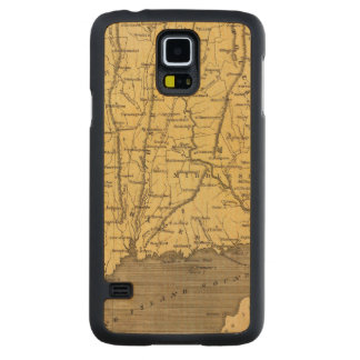 Connecticut 4 carved maple galaxy s5 case