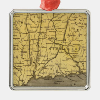 Connecticut 4 christmas ornament