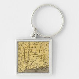 Connecticut 4 key ring