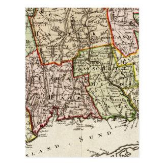 Connecticut 6 postcard