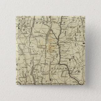 Connecticut 7 15 cm square badge