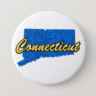 Connecticut 7.5 Cm Round Badge