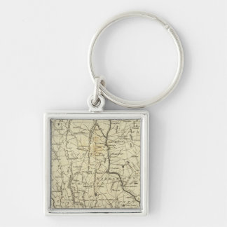 Connecticut 7 key ring