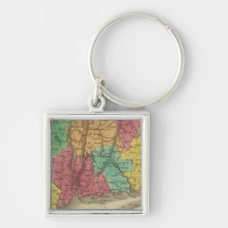Connecticut 9 key ring