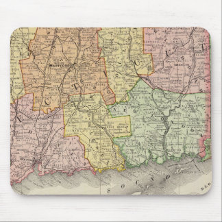 Connecticut and Rhode Island Mouse Mat