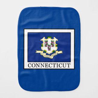 Connecticut Baby Burp Cloth