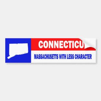 CONNECTICUT BUMPER STICKERS