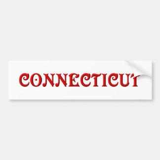 Connecticut Bumper Sticker