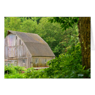 Connecticut Country Barn Greeting Card