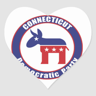 Connecticut Democratic Party Stickers