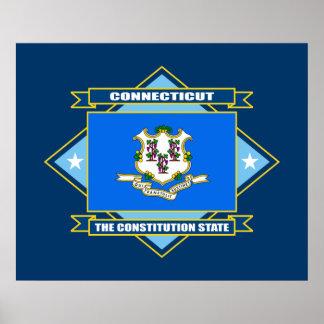 Connecticut Diamond Poster