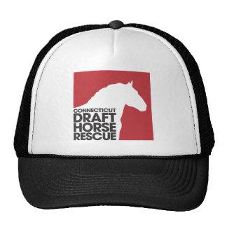 Connecticut Draft Horse Rescue logo Cap