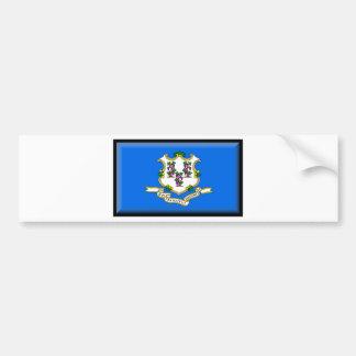 Connecticut Flag Bumper Stickers