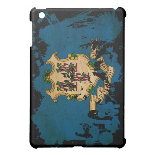 Connecticut Flag Cover For The iPad Mini
