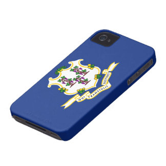 Connecticut flag iPhone 4 covers