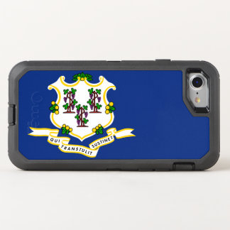 Connecticut Flag Otterbox Defender Iphone 7 Case