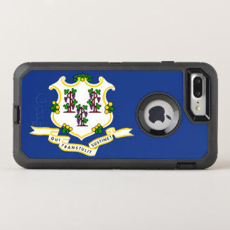 Connecticut Flag Otterbox DFNDR Iphone 7 Plus Case