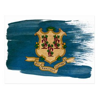 Connecticut Flag Postcards