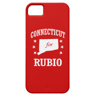 CONNECTICUT FOR RUBIO iPhone 5 COVERS