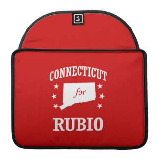CONNECTICUT FOR RUBIO SLEEVES FOR MacBook PRO