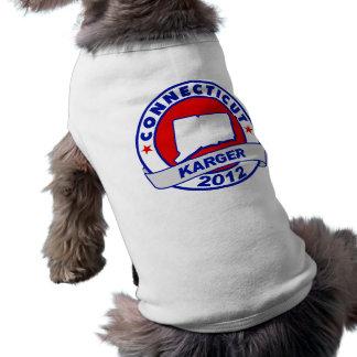 Connecticut Fred Karger Dog Tshirt
