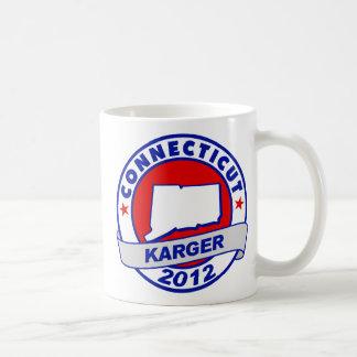Connecticut Fred Karger Coffee Mug