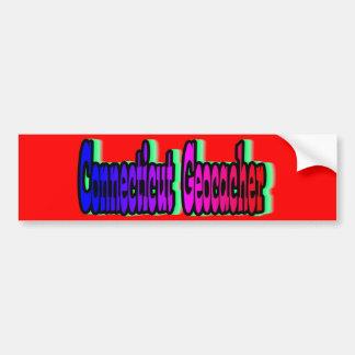 Connecticut Geocacher Bumper Sticker