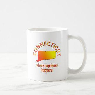 CONNECTICUT Happiness Coffee Mug
