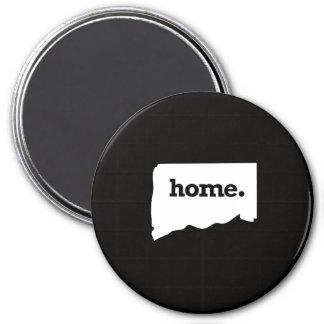 Connecticut Home 7.5 Cm Round Magnet