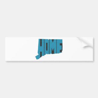 Connecticut Home State Bumper Sticker