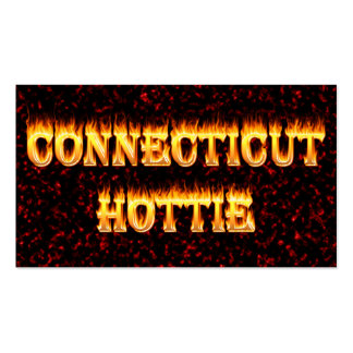 connecticut hottie fire and flames business cards