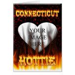 connecticut hottie fire and flames design