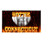 connecticut hottie fire and flames design