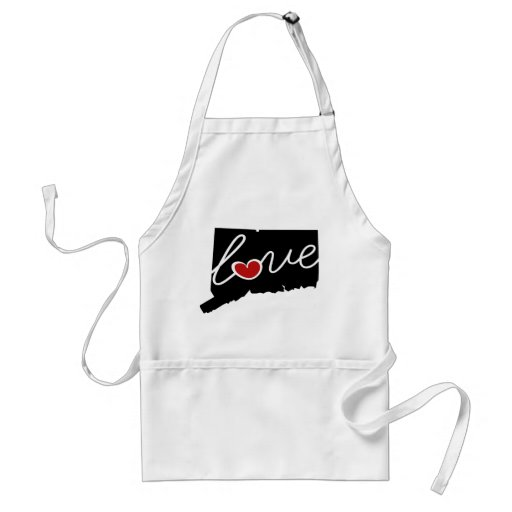 Connecticut Love!  Gifts for CT Lovers Aprons