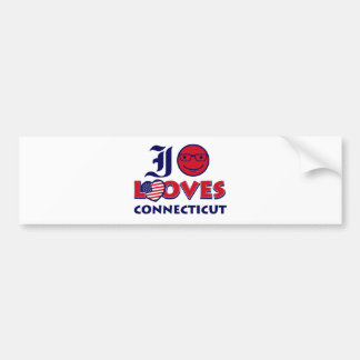 Connecticut lovers design bumper stickers