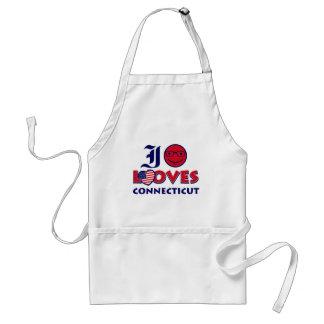Connecticut lovers design standard apron