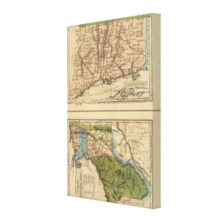 Connecticut, NewEngland Canvas Print