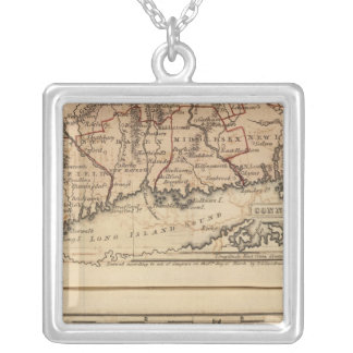 Connecticut, NewEngland Silver Plated Necklace