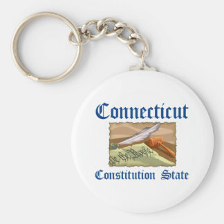 Connecticut Nickname Key Chains