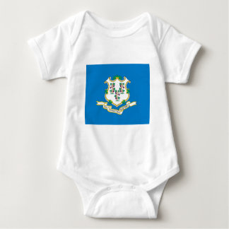 Connecticut  Official State Flag Baby Bodysuit