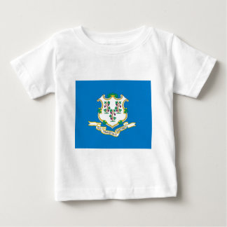 Connecticut  Official State Flag Baby T-Shirt