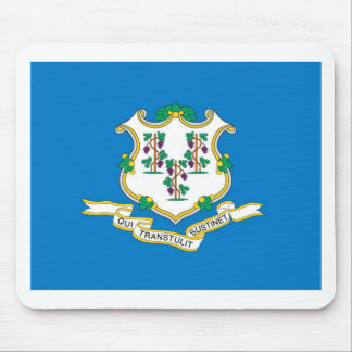 Connecticut  Official State Flag Mouse Pad