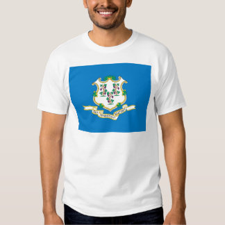 Connecticut  Official State Flag T-shirt
