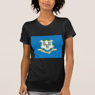 Connecticut  Official State Flag Tee Shirt