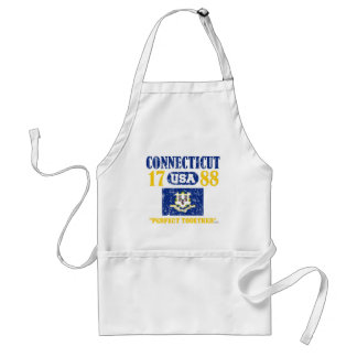 CONNECTICUT PERFECT TOGETHER DISTRESSED PRODUCTS STANDARD APRON
