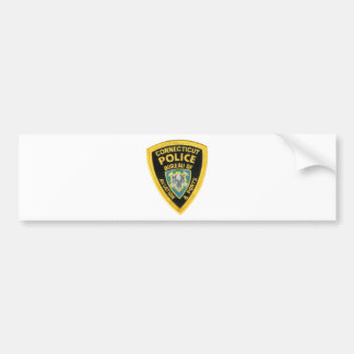CONNECTICUT POLICE BUMPER STICKERS