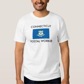 CONNECTICUT POSTAL WORKER T SHIRTS