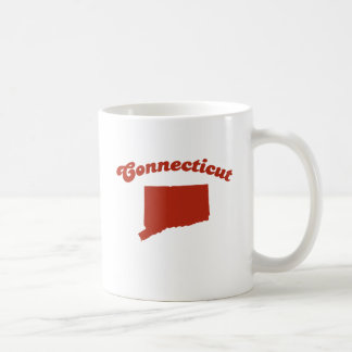 CONNECTICUT Red State Mugs